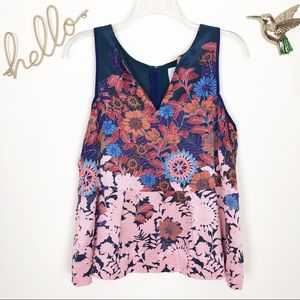 Anthropologie HD in Paris floral peplum top